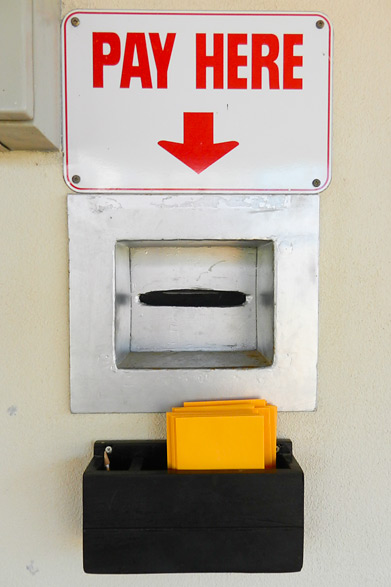 Court Hire Payment Box